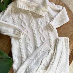 Sweater Bodysuit Coverall